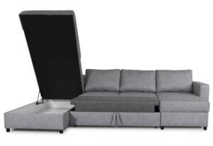 Tärnö U-soffa - Bäddsoffa med divan och schäslong