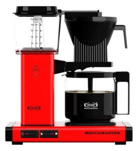Moccamaster KBG962 AO - röd kaffebryggare